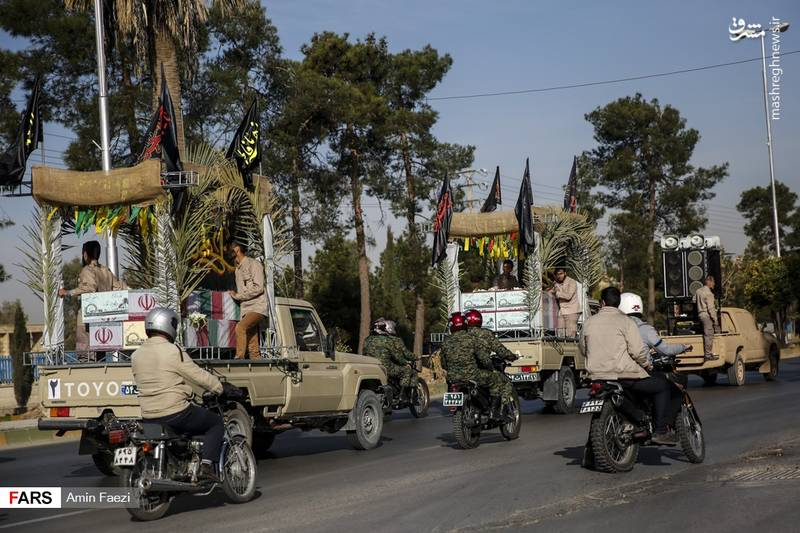 کاروان شهدای دفاع مقدس در شیراز