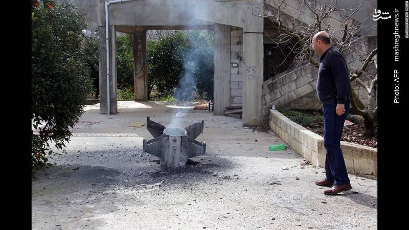 عملنکردن یک موشک اسرائیلی پس از سقوط در روستایی در لبنان طی عملیات انتقامجویانه رژیم صهیونیستی علیه سوریه پس از متهم کردن ایران به اسقاط اف-16 اسرائیلی!