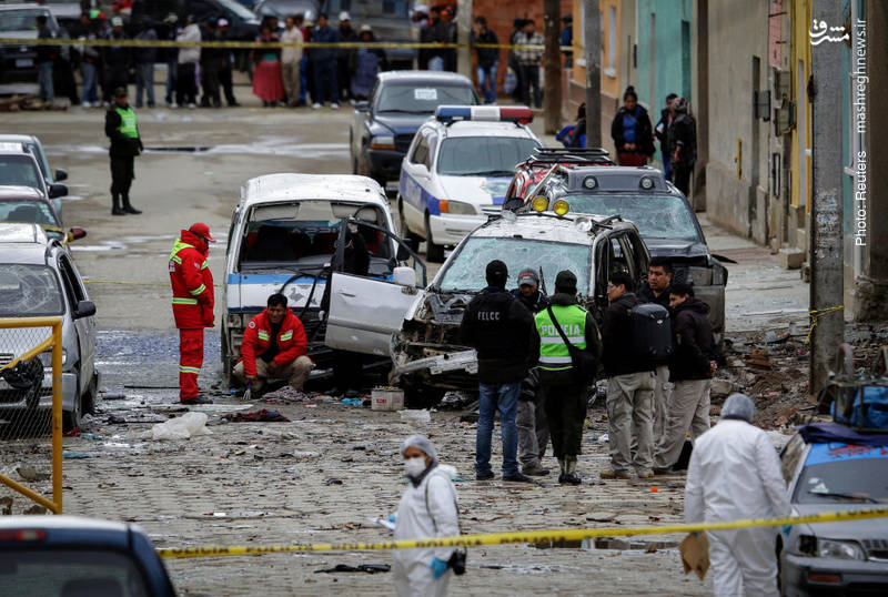 60 کشته در دو انفجار طی یک هفته در بولیوی