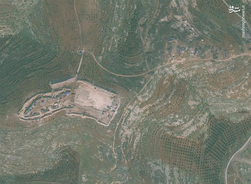 ساخت سه پایگاه نظامی غیرقانونی ترکیه در خاک سوریه + تصاویر ماهواره ای