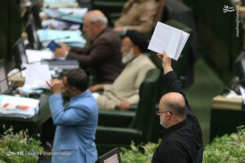 قاضیپور:  اجازه دهید سوال از رئیس جمهور، استیضاح و سوال از وزرا در صحن علنی مجلس مطرح شود.