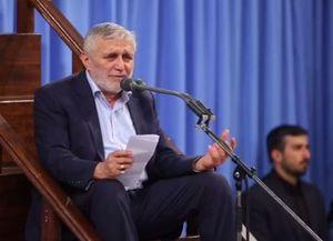 فیلم/ مداحی حاج منصور در شب اول فاطمیه