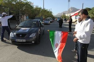 برگزاری رالی اتومبیلرانی خانوادگی مشهد تا کربلا