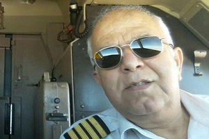 خلبان پرواز سقوطکرده تهران - یاسوج