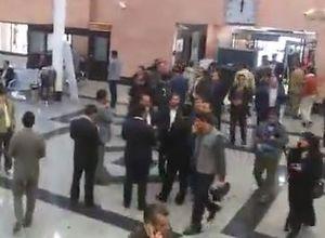 فیلم/ حضور خانواده مسافران هواپیمای تهران یاسوج در فرودگاه