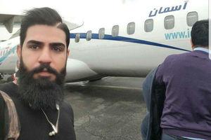 آخرین سلفی یکی از مسافران پرواز سقوط کرده تهران_یاسوج