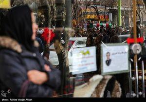 عکس/ تشییع شهید سانچی در اصفهان