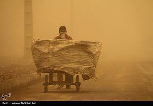 عکس/ وضعیت خطرناک در آبادان