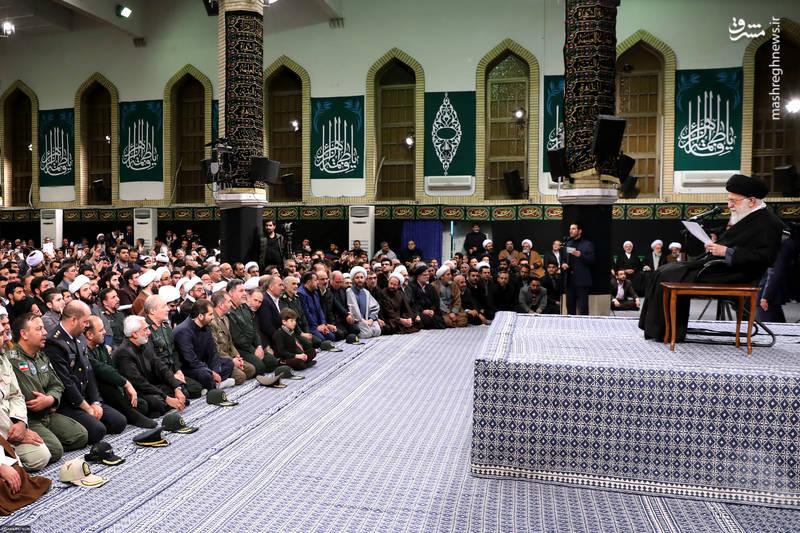 مقام معظم رهبری در دیدار مردم آذربایجان 29 بهمن 1396