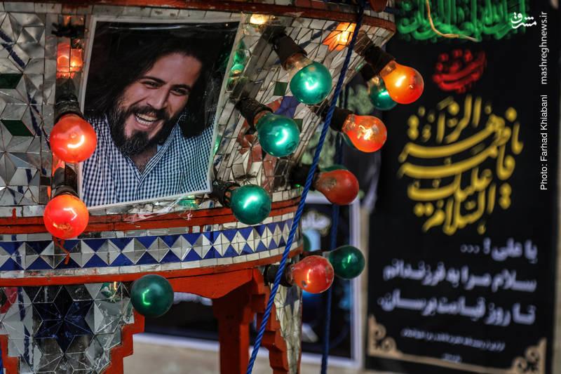 """مراسم تشییع پیکر فرزند """"احمد توکلی"""""""