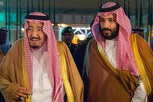 قدردانی سلمان و پسرش از وزیر کشور سعودی