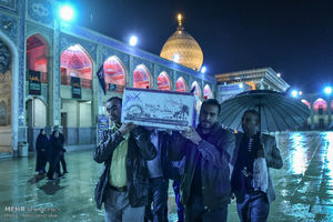 عکس/ تشییع پیکر شهدای گمنام در شیراز
