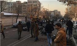 شهادت سه مأمور پلیس در منطقه پاسداران تهران