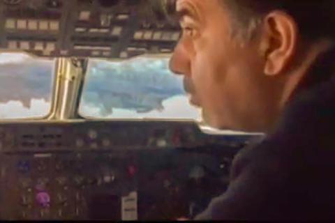 فیلم/ تلاش آخوندی برای پیدا کردن لاشه هواپیما!
