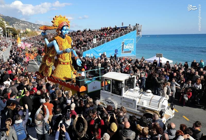 بیش از ۱۴۰ تن مرکبات خصوصا لیمو در این جشنواره استفاده میشود