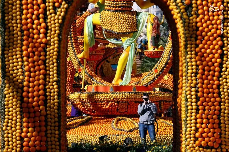 جشنواره Lemon Menton از 1933 به عنوان نمایش میوه شروع شده است