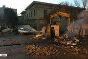 خیابان پاسداران بعد از آشوب دراویش اغتشاشگر