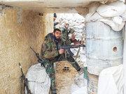 شخم گروههای تروریستی در غوطه شرقی+عکس