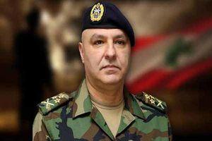 خط و نشان فرمانده ارتش لبنان برای اسرائیل