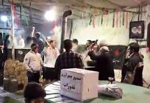 فیلم/ سمنوپزان در شب شهادت حضرت زهرا(س)