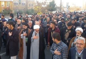عکس/ سمنان در سوگ شهادت حضرت زهرا (س)