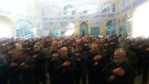 عکس/ عزاداری شهادت حضرت زهرا (س) در دامغان