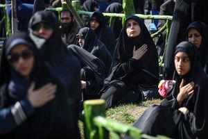 عکس/ اجتماع عظیم عزاداران فاطمی در میدان هفت تیر تهران