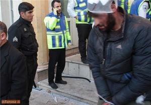لحظه بازداشت دراویش اغتشاشگر