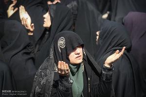 عکس/ اجتماع عظیم فاطمیون در سعادت آباد تهران