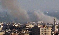 حملات خمپارهای تروریستها به دمشق