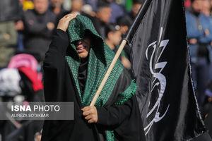 عکس/ عزاداری فاطمیه در میدان فاطمی تهران