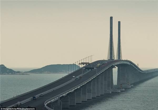 رونمایی از طولانیترین پل دریایی جهان +عکس