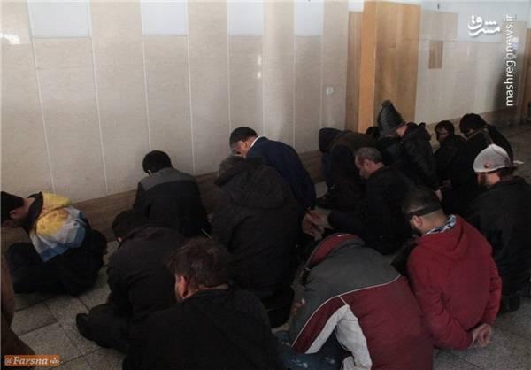 تعدادی از دراویش آشوبگر در بازداشتگاه