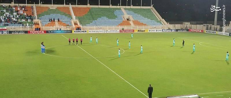 عکس/حرکت غیر اخلاقی بازیکنان الهلال عربستان