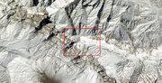 تصاویر ماهوارهای از محل سقوط هواپیمای یاسوج