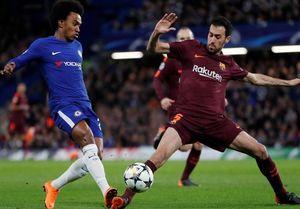 فیلم/ خلاصه و گلهای بازی چلسی 1 - 1 بارسلونا