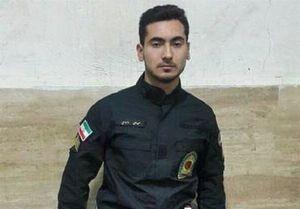 عکس/ توصیه شهید حادثه خیابان پاسداران به همکارش