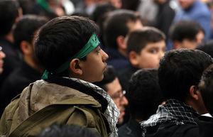 عکس/ آخرین شب مراسم عزاداری در حسینیه امام خمینی