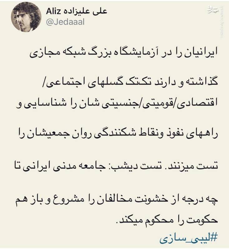 ایرانیان در آزمایشگاه بزرگ شبکه مجازی