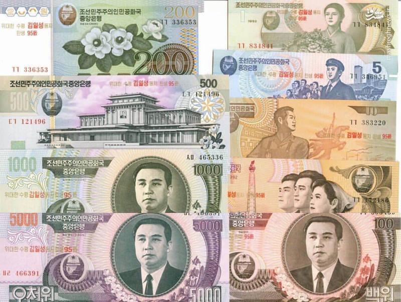 اسکناس های کره شمالی