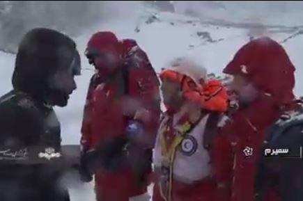 فیلم/ وضعیت بد امدادگران در محل سقوط هواپیما