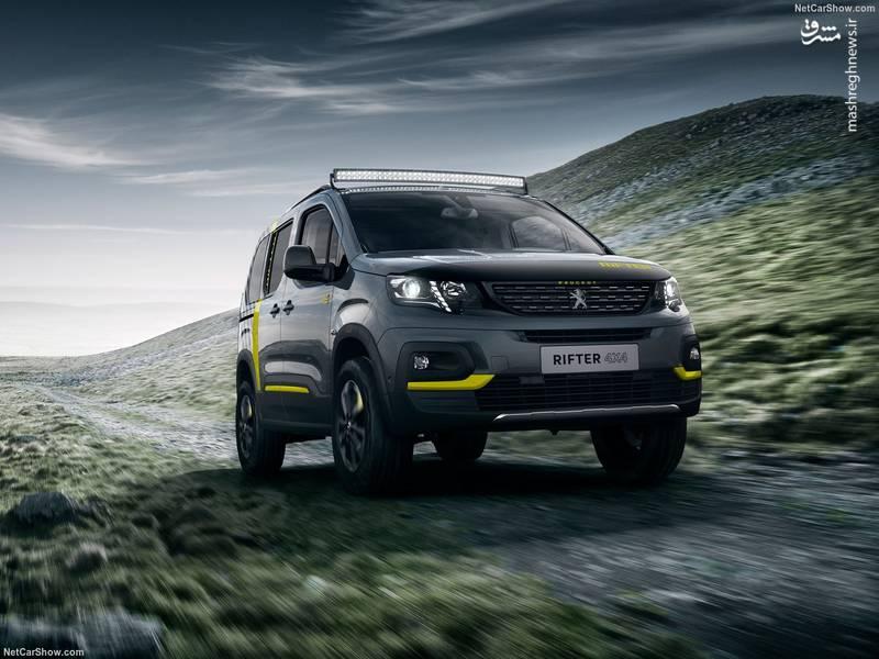 Peugeot Rifter 4x4 Concept (2018)
