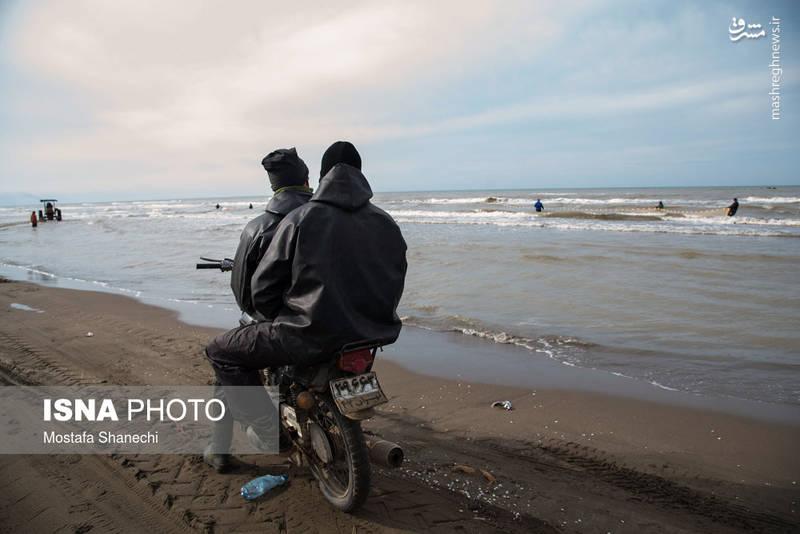 دریای مازندران ٣ صیاد را گرفت