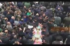 فیلم/ تشییع شهید بسیجی خیابان پاسداران