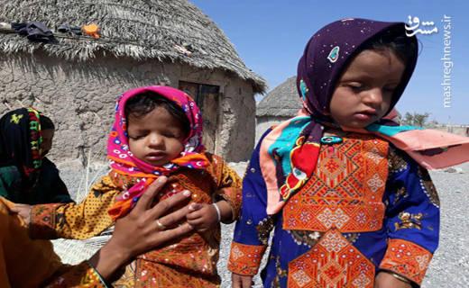 خواهرانی که فقر را نمی بینند اما حس می کنند +عکس