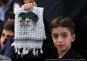 آخرین شب عزاداری فاطمیه ۱۴۳۹ در حسینیه امام خمینی
