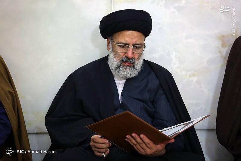 حجت الاسلام سید ابراهیم رئیسی