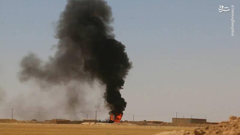 صبر نیروهای بسیج مردمی عراق در شمال غرب استان نینوا به سرآمد/ حمله موشکی به عمق مناطق تحت اشغال آمریکا در شرق رود فرات + نقشه میدانی و تصاویر