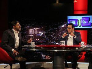 گفتگوی صادق خرازی و محمد حسین صفارهرندی در تلویزیون