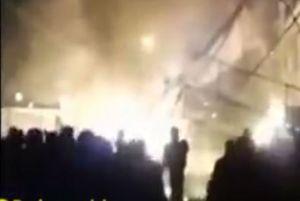 فیلم/ نحوه شهادت شهید حدادیان در پاسداران